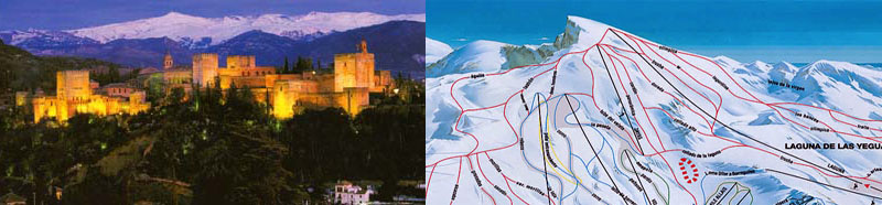 Rent Luxury Villa in Spain - Is it Possible to Snow Ski in Granada?